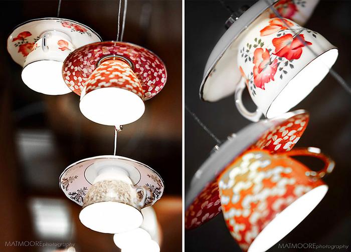 kreative Lampen aus Tassen selber machen, inspirierende DIY Projekte, einfach und originell
