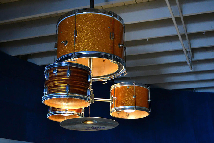 Lampen aus Trommeln selber machen, tolle Ideen zum Inspirieren und Nachmachen