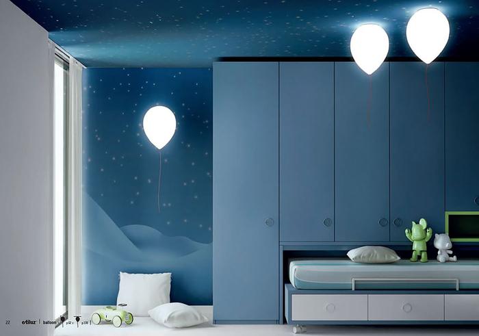 Lampen als Luftballons, fantastische Ideen fürs Kinderzimmer, attraktiv und leicht gemacht
