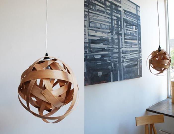 Lampenschirme selber basteln, inspirierende Ideen und Schritt für Schritt Anleitungen