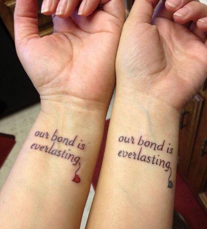 hier ist eine wirklich tolle idee für einen tattoo auf dem handgelenk einer frau - tattoo schriften handgelenk