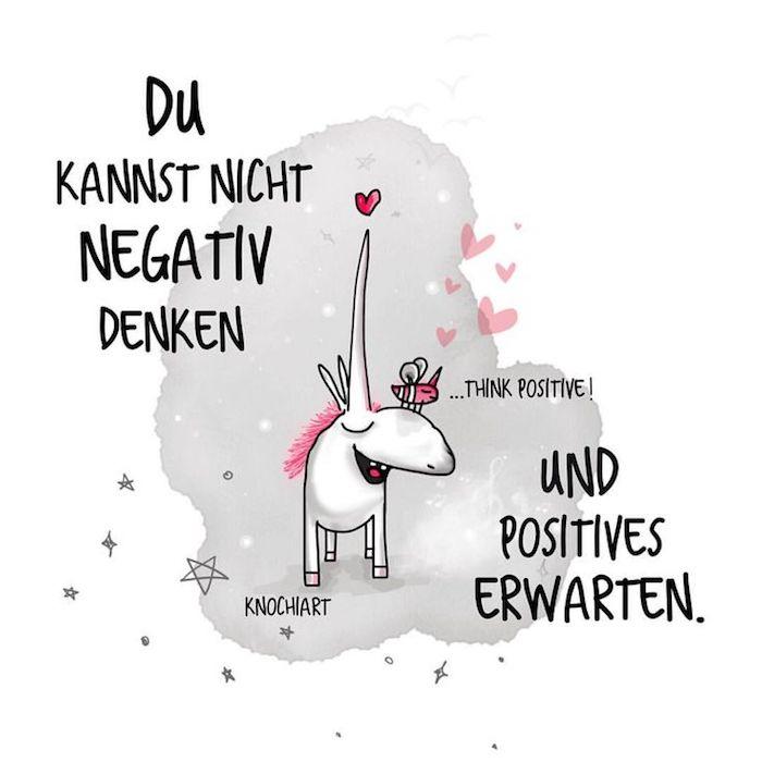 zitate zum nachdenken einhorn zitate als postkarten gestalten positive gedanken positive resultaten