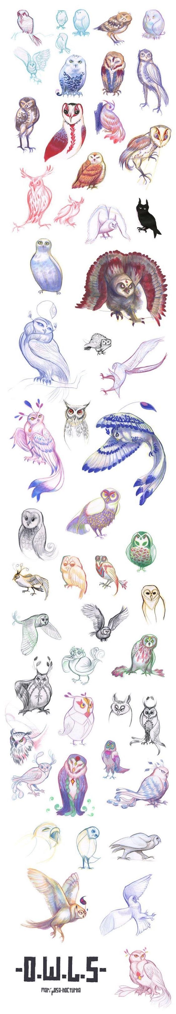 hier finden sie viele inspirierende ideen und bilder zum thema eulen tattoos, die ihnen sehr gut gefallen könnten - bunte, blaue, pinke, grüne. rote eulen und uhus