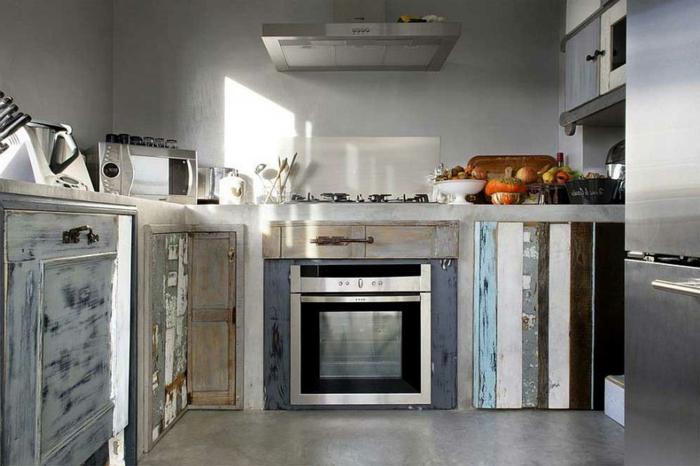küche shabby chic modern und ausgeblichene fronten shabby style