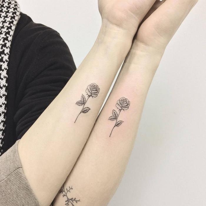 1001 Ideen Und Inspirationen Für Geschwister Tattoo Motive