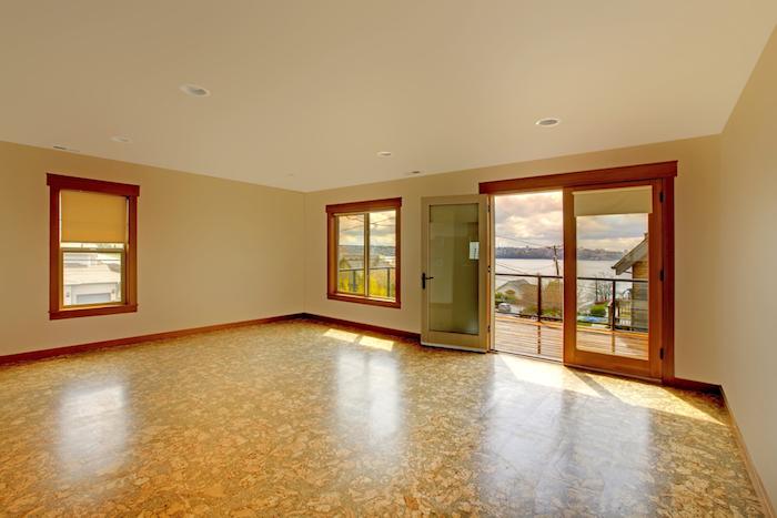 unmöbliertes Zimmer zur Miete mit schönem Aussicht zum See