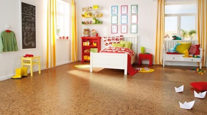 weicher Boden für das Kinderzimmer, hell und groß, Naturfarben