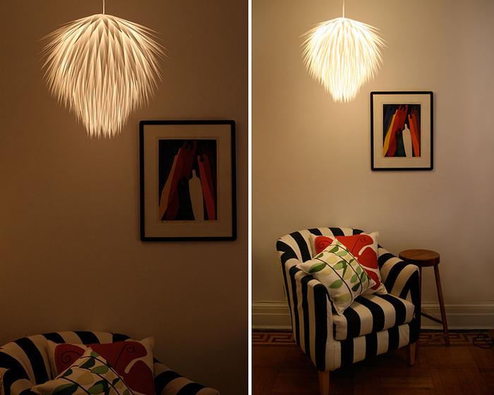 Lampenschirme selber basteln, Ideen und Anleitungen zum Nachmachen