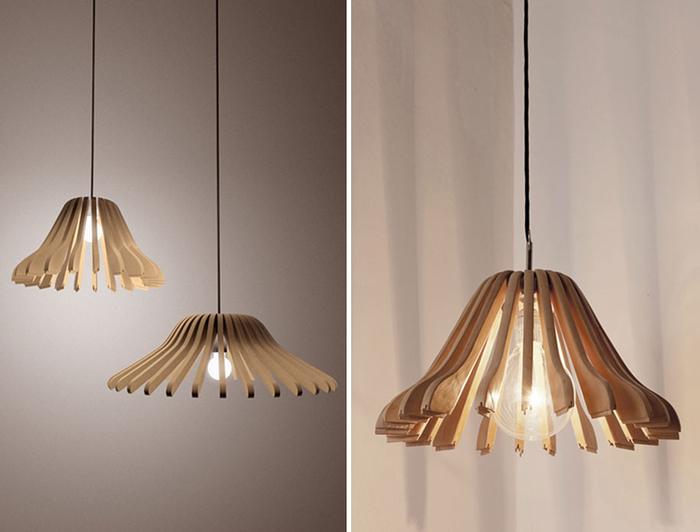 Lampenschirme aus Holz selber basteln, DIY Ideen und Schritt für Schritt Anleitungen