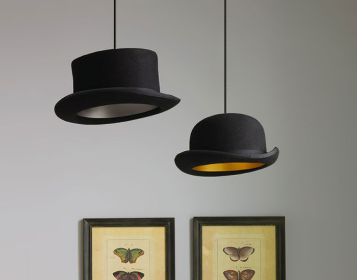 Lampenschirm aus Hut machen, kreative DIY Ideen zum Inspirieren und Nachmachen