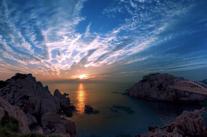 positive sprüche tolles foto meer himmer schöne bilder zum inspirieren