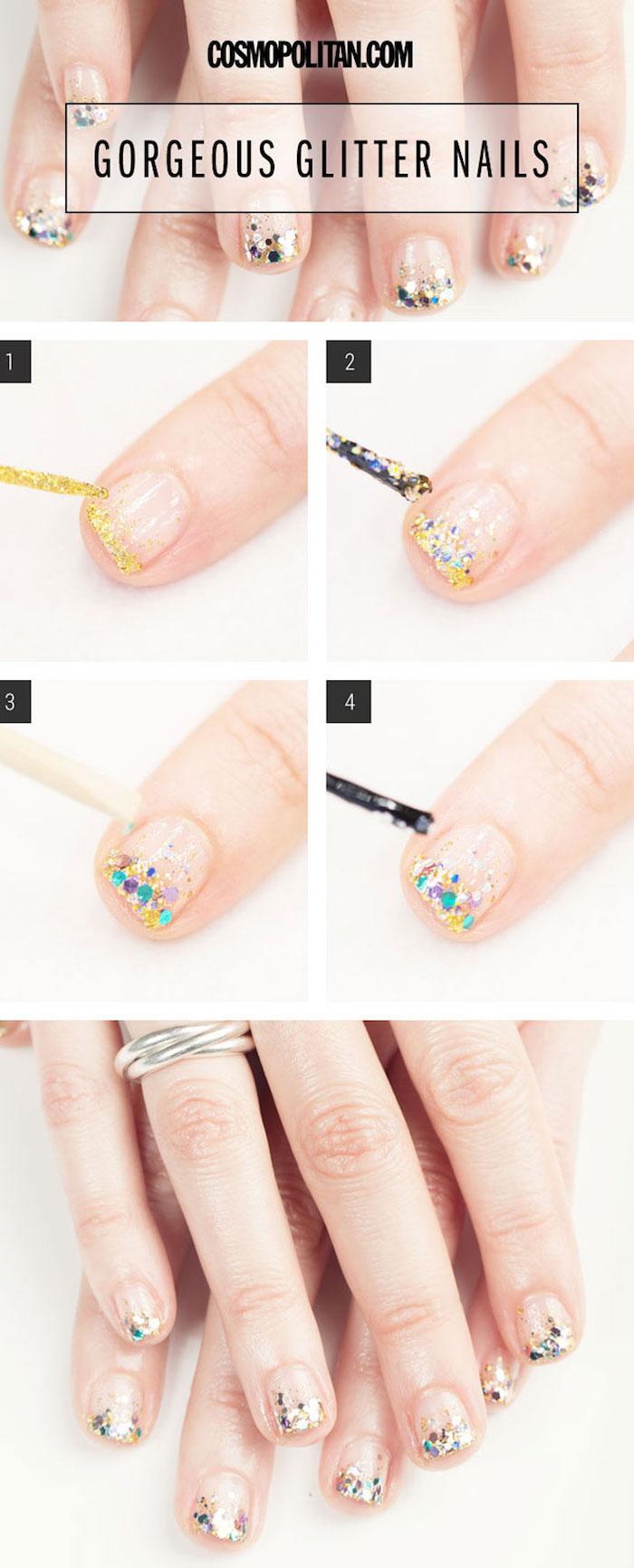 Простой дизайн ногтей в домашних условиях шеллак фото