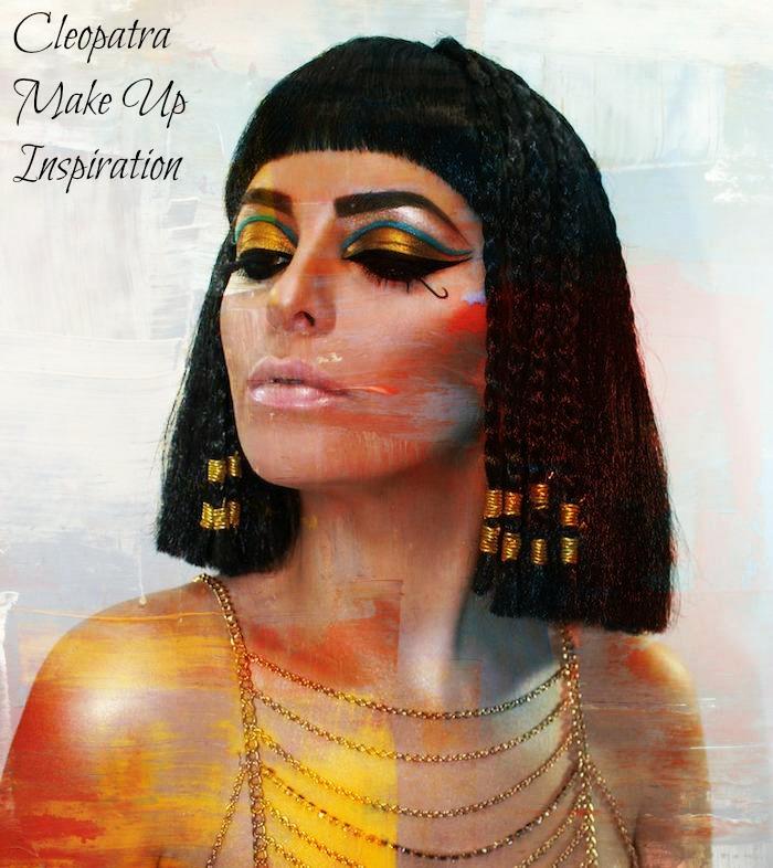 cleopatra schminken ideen