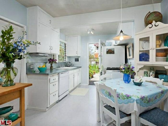 retro chic in der küche shabby deko für shabby chic küche