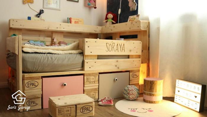 Kinderbett selber bauen  Kinderbett aus Paletten - DIY Ideen für kreative Eltern