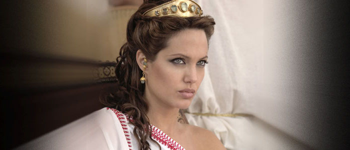 kostüm ägypten die bezaubernde angelina jolie spielt die rolle von cleopatra