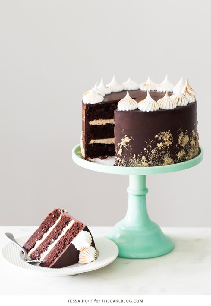 Schokoladentorte zum Geburtstag zubereiten, eine unvergessliche Feier organisieren