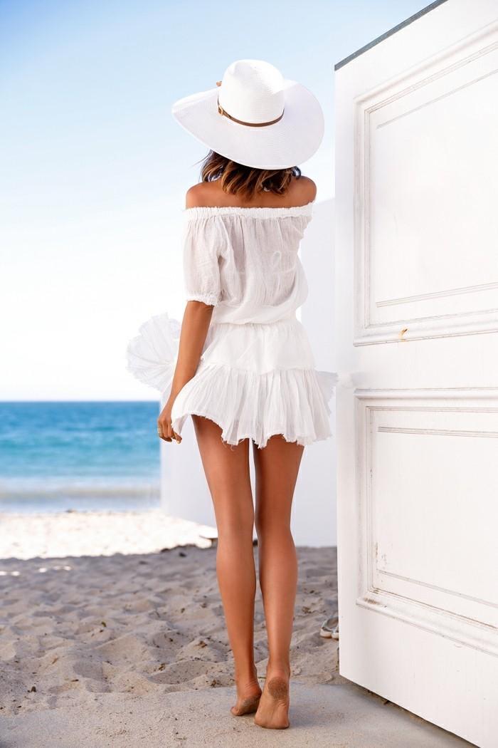 strandmode für sommer 2017 alles in weiß eignet sich perfekt zum sommer outfit