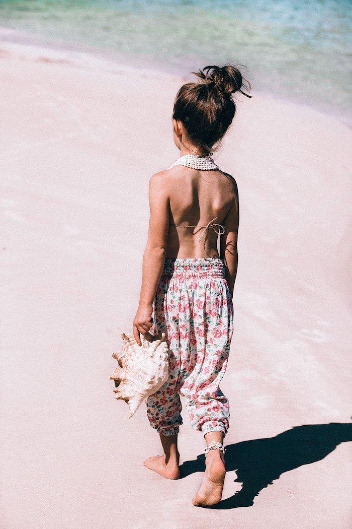 coole bikinis für erwachsene oder kinder breite hose und bikini oberteil mädchen rapan