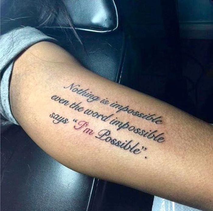Tattoo sprüche handgelenk männer. Die 110 besten Tattoo Sprüche