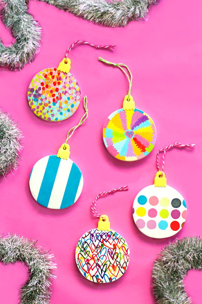 DIY Ideen für Weihnachtsschmuck, mit Kindern basteln und dekorieren