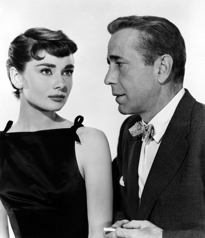 Humphrey Bogart und Audrey Hepburn in den 50er Jahren, Audrey Hepburn Frisur