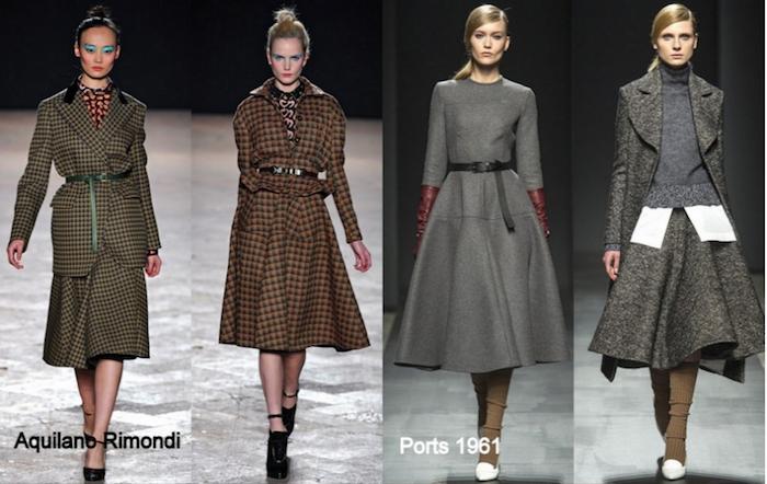 Aquliano Rimondi Vintage Modekollektion von Wintermänteln aus Wolle, Ports 1961