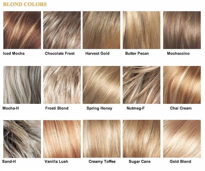 helle Nuance, blonde Nuance, blonde Haartönung, Arten von Blond