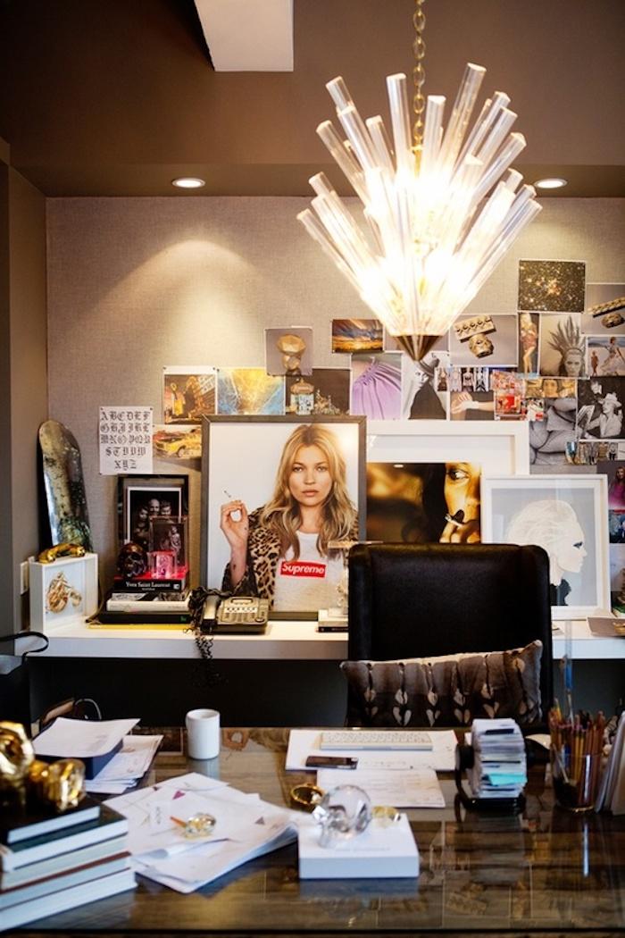 arbeit von zu hause für designer und kreative personen bilder fotos tolle lampe