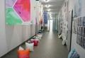 """""""Ein Rollo kommt selten allein"""" – Textildesign Studenten erproben die Praxis"""