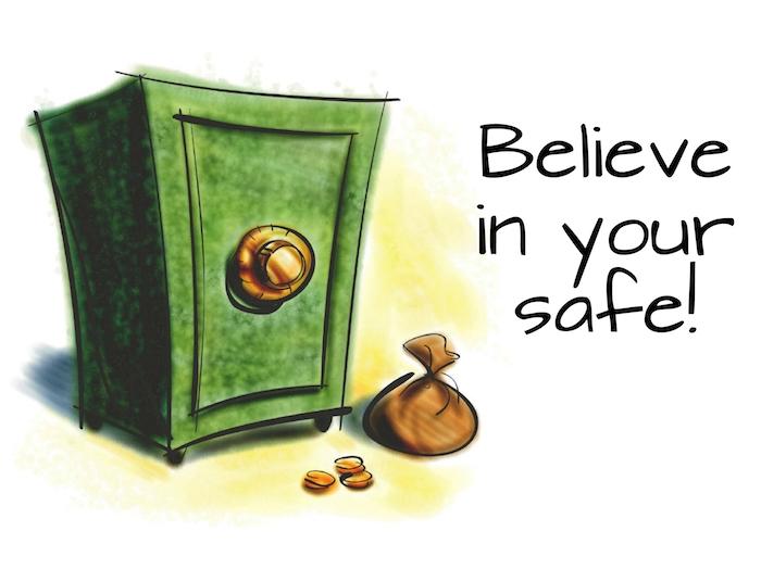 die schlüsseltresore sichern einem ruhigen schlaf und urlaub grüner safe aufschrift