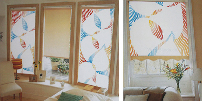 """""""A roller blind rarely comes alone"""" - Textile design students test the practice"""