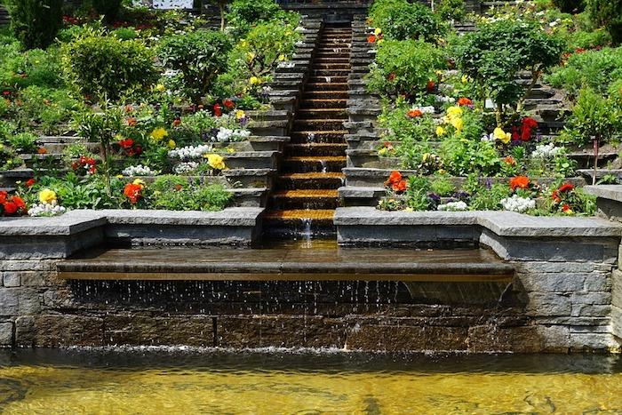 1001 ideen und inspirationen wie sie ihren garten gestalten for Gartengestaltung wasserfall