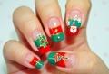 Weihnachtsnägel – 56 glänzende Ideen