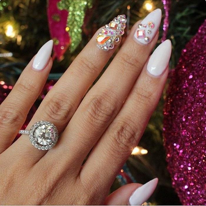 nägel weihnachten zu jedem anlass passend verlobungsring zu weihnachten bekommen
