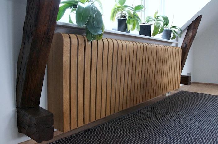 heizkrper deko interior design ideen mit wandbehang wei. Black Bedroom Furniture Sets. Home Design Ideas
