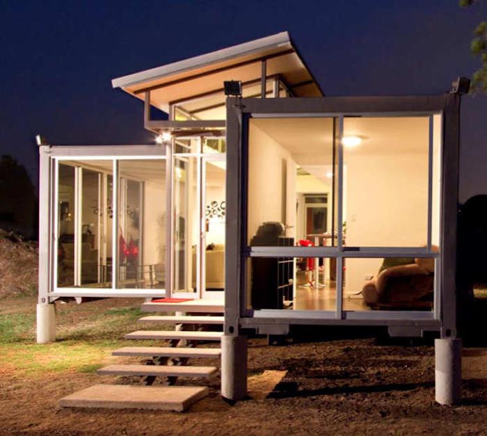 64 ideen zum thema modernes und g nstiges container haus for Modernes containerhaus
