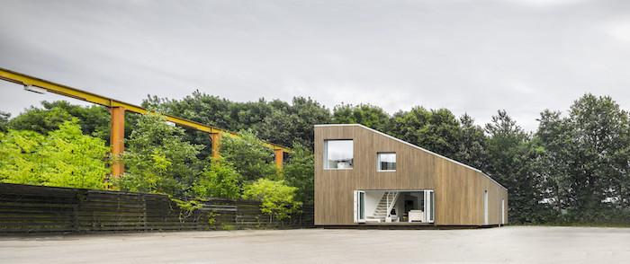 Cheap Werfen Sie Einen Blick Auf Diese Idee Fr Ein Container Haus Mit Einem  Garten Mit With Modernes Haus Im Wald.