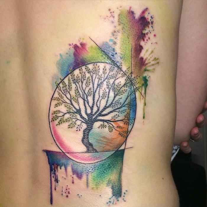 Lebensbaum Tattoo