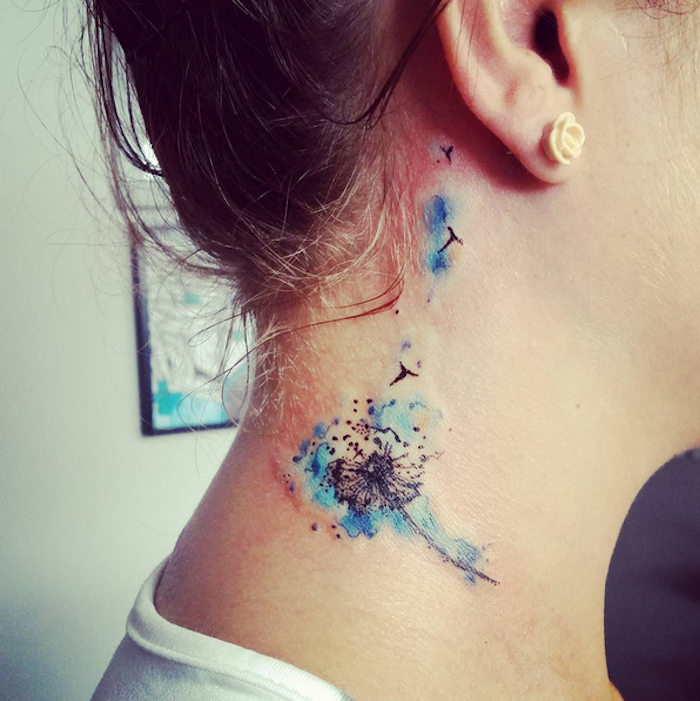1001 inspirationen f r ein cooles pusteblume tattoo for Soffione significato