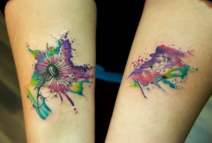 88 cool dandelion tattoo ideas for inspiration