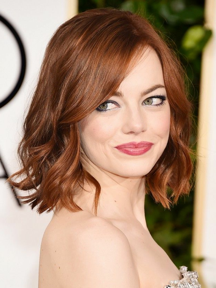 What Natural Hair Color Is Emma Stone