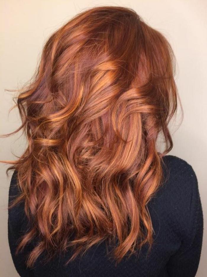 wunderschöne kupferrote Haare, den perfekten Rotton auswählen, Ideen und Vorschläge