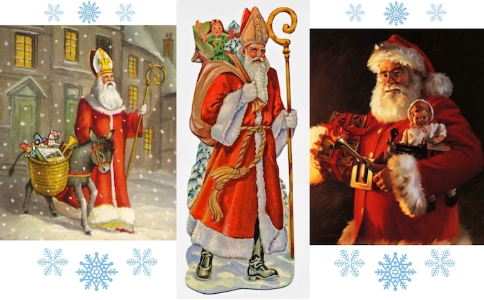 der weihnachtsmann und nikolaus