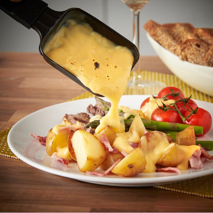 zutaten raclette ideen zum kochen leckere speisen zubereiten schmelzende käsesorte