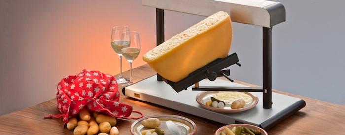 raclett zutaten idee zum kochen mit raclette käse schmelzende käsesorte weißwein