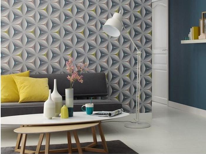 retro-tapeten: der weg zum stilvollen innenbereich - Retro Tapete Wohnzimmer