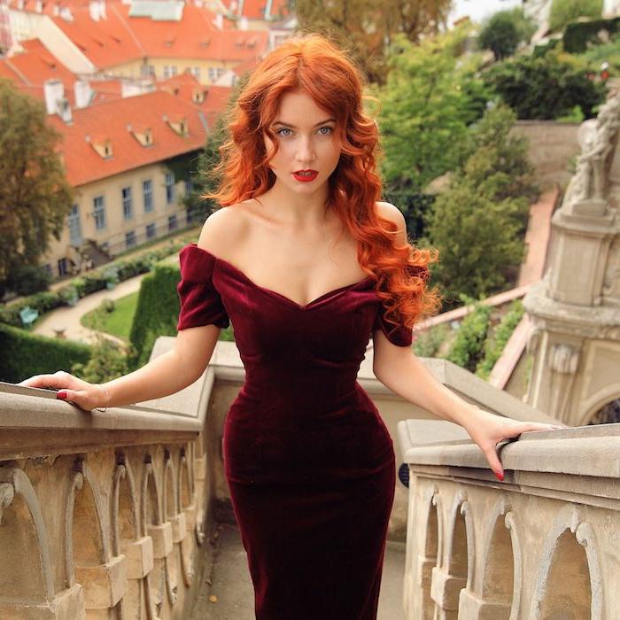 Rote haare welches kleid