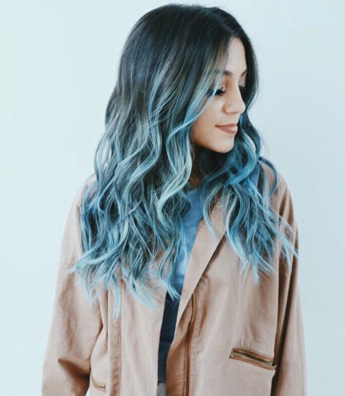 1001 Ideen Für Coole Frisuren Zum Thema Blaue Haare