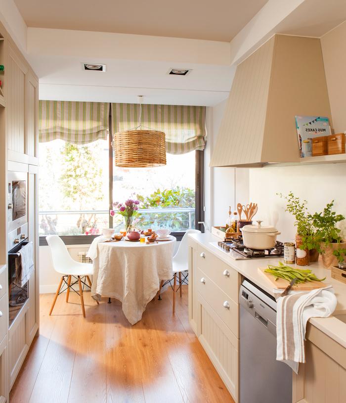 shabby möbel ideen zum dekorieren und gestalten der küche herd waschmaschine